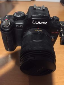 Very happy to add another GH2 to the family. This one is the one I won on eBay for $3
